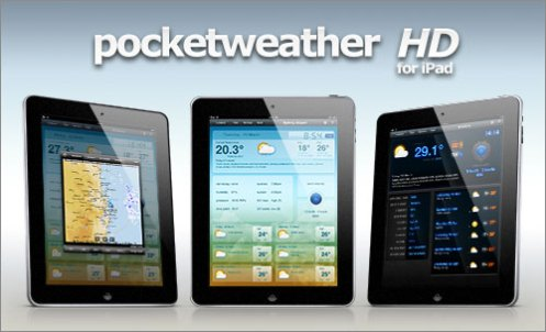The new Pocket Weather HD for iPad