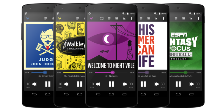 pocket casts 4.5